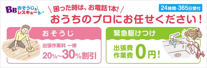 SoftBank光のBBお掃除&レスキューで困った時も安心